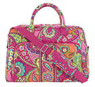 Vera Bradley Weekender Travel Bag in Pink Swirls NWT