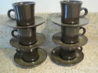 Franciscan Madeira Earthenware  Lot of 12 - 6 Cups and 6 Saucers EUC Vintage