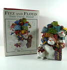 Fitz And Floyd Holiday Musicals Frosty Friends Music Box Tune Toyland