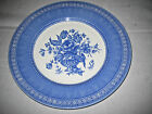 Churchill Out of the Blue Dinner Plate/s England Excellent Pristine