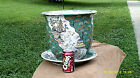 Extremely Rare, Jardinere , Fish bowl , Flower Pot With Bottom Plate