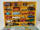 Vintage mixes lot 24 Cars die cast with Case