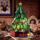 Stained Glass Christmas Tree Large Table Lamp 16