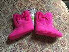 Wee Kids Bright Pink Waddle Girls Baby Boots Booties Velcro MSRP 2200 SZ 3