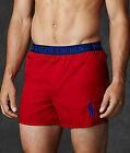 Polo Ralph Lauren Men's Woven Boxer Short P936 CX Shanghai Red