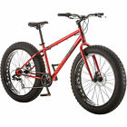 NEW 26 Mongoose Hitch Fat Tire Mens 7 speed Mountain Bike Bicycle Red