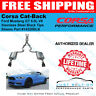 Corsa 14328blk Xtreme Cat-Back BLACK TIPS 2015-2017 Mustang GT 5.0 Coupe -NEW
