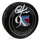 Chris Kreider New York Rangers Signed Autographed Rangers 90th Game Puck
