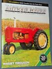 ANTIQUE POWER MAGAZINE JUL/AUG 2008 BIRTH OF MASSEY FERGUSON 1937 FARMALL F20