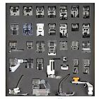 Tinksky 32pcs Domestic Sewing Machine Presser Foot Set for Brother Babylock N...