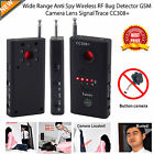 Hidden Camera GSM Audio Bug Finder GPS Signal Lens RF Tracker Anti Spy Detector