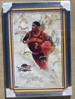JSA Cleveland Cavaliers KYRIE IRVING Signed Autographed FRAMED & MATTED Poster!