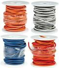Novello DN-WHW27 Factory Coded Wire Spool 25' White/Blue