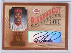 2002 Donruss Diamond Kings Cut Collection Barry Larkin Autograph #D239 250 *5873