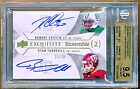 2012 Exquisite Tannehill Griffin Ensemble DUAL RC ON CARD AUTO GOLD # 30 BGS 9.5