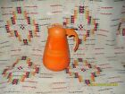 VINTAGE RED HARLEQUIN SYRUP WITH DRIPCUT  LID - FIESTAWARE