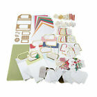 Anna Griffin Festive Flips Card Making Kit  Cutting Dies Thanksgiving Christmas