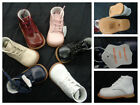 New Unisex Baby Toddler First Leather Walking Shoes 6 Assorted Colors Size 2 6