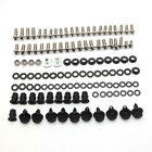 Complete Fairing Bolt Kit Body Screws Nuts for KAWASAKI Ninja 250R 2008-2012 10