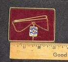 ANTIQUE INDEPENDENT ORDER OF ODD FELLOWS TIE CLASP