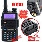 1x Baofeng  UV-5R+Plus  VHF UHF 136-174/400-520MHz Dual Band FM Two way Radio AG