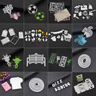 Metal Cutting Dies Various Shape Die Cutter Stencil DIY Scrapbook Album Tool New