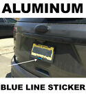 Police Officer Thin Blue Line reflective American Flag Decal Sticker 325x175
