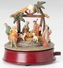 Fontanini Lighted Rotating Musical Nativity 65H