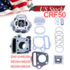 50CC f HONDA Z50 Z50R XR50 CRF50 DIRT BIKE CYLINDER ENGINE MOTOR REBUILD KIT NEW