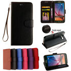 Classic Flip Magnetic PU Leather Kickstand Card Pocket Case Cover Rubber Bumper