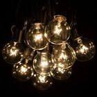 25Ft Globe String Lights with 25 G40 Bulbs Vintage Patio Garden Light string ...