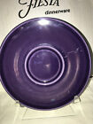 Fiesta ware JUMBO SAUCER- Retired Item -New Never Used - PLUM