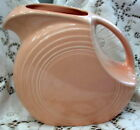 FIESTA Large Disc Water PITCHER Apricot Peach Vintage Homer Laughlin Retired