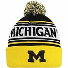 Michigan Wolverines Top of the World Ambient Cuffed Knit Hat with Pom