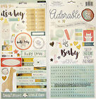 BRAND NEW CRATE PAPER  LITTLE YOU BOY 2  STICKER SHEETS Save 35