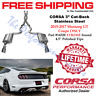 Corsa 14328 Xtreme Cat-Back Exhaust 2015-2017 Mustang GT 5.0L Coupe - NEW