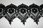 Venise Lace in Black Rayon - 10 yds for $19.99 - 4 1/2