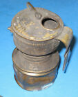 Vintage Miners Carbide Lamp AUTO LITE by Universal Lamp Co coal mining light