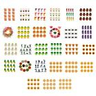 12pcs/Set Plastic Simulation Models DIY Charm Jewelry Beads for Kids Crafts Gift