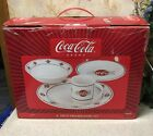 Coca Cola 16 Pc Stoneware Sakura New In Box Coke
