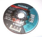 5x Metabo Flexiamant Angle Grinder Steel Cutting Discs. 115 x 2.5 x 22.2 mm Disc