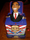 Barack Obama JACK IN THE BOX LIMITED EDITION  2nd print POP ART CREATIONS NEW