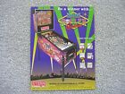 High Roller Casino Pinball Sales Flyer  New Old Stock