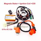 Magneto Stator Racing Ignition Coil CDI For GY6 125 150cc ATV Quad Moped Scooter