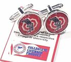 Ohio State Buckeyes Logo Cuff links USA Seller Free Shipping
