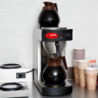 NEW Avantco C10 12 Cup Pourover Commercial Restaurant Coffee Maker 2 Warmer 120V