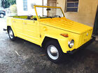 1973 Volkswagen Thing Convertible RARE 1973 VW THING RUNS EXCELLENT LOW MILES SUPER SOLID NEW TOP LOW RESERVE