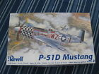 Revell P-51D Mustang Model Airplane Kit 1:48 Scale Contents Unopened