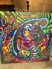 Original Cirqus Voltaire Pinball Machine Back Glass 1977