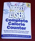 The Biggest Loser COMPLETE CALORIE COUNTER Nutritional Information Book FORBERG